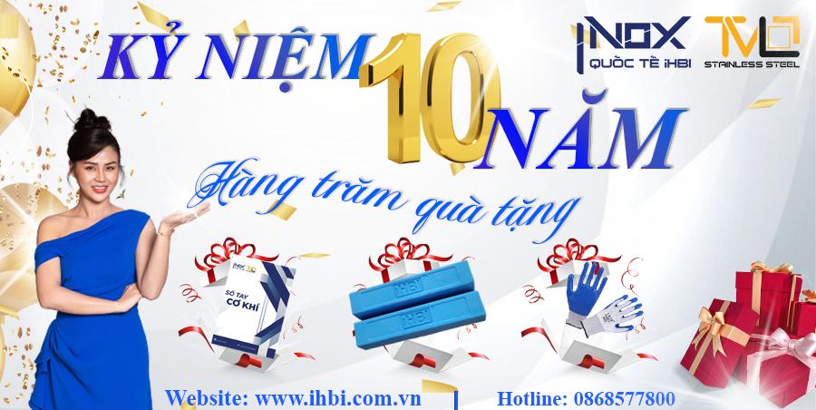 Hành trình 10 năm phát triển thương hiệu Inox Quốc Tế iHBI