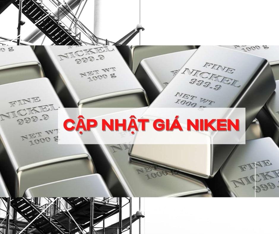 Giá niken và niken tấm thế giới | Cập nhật giá niken hôm nay