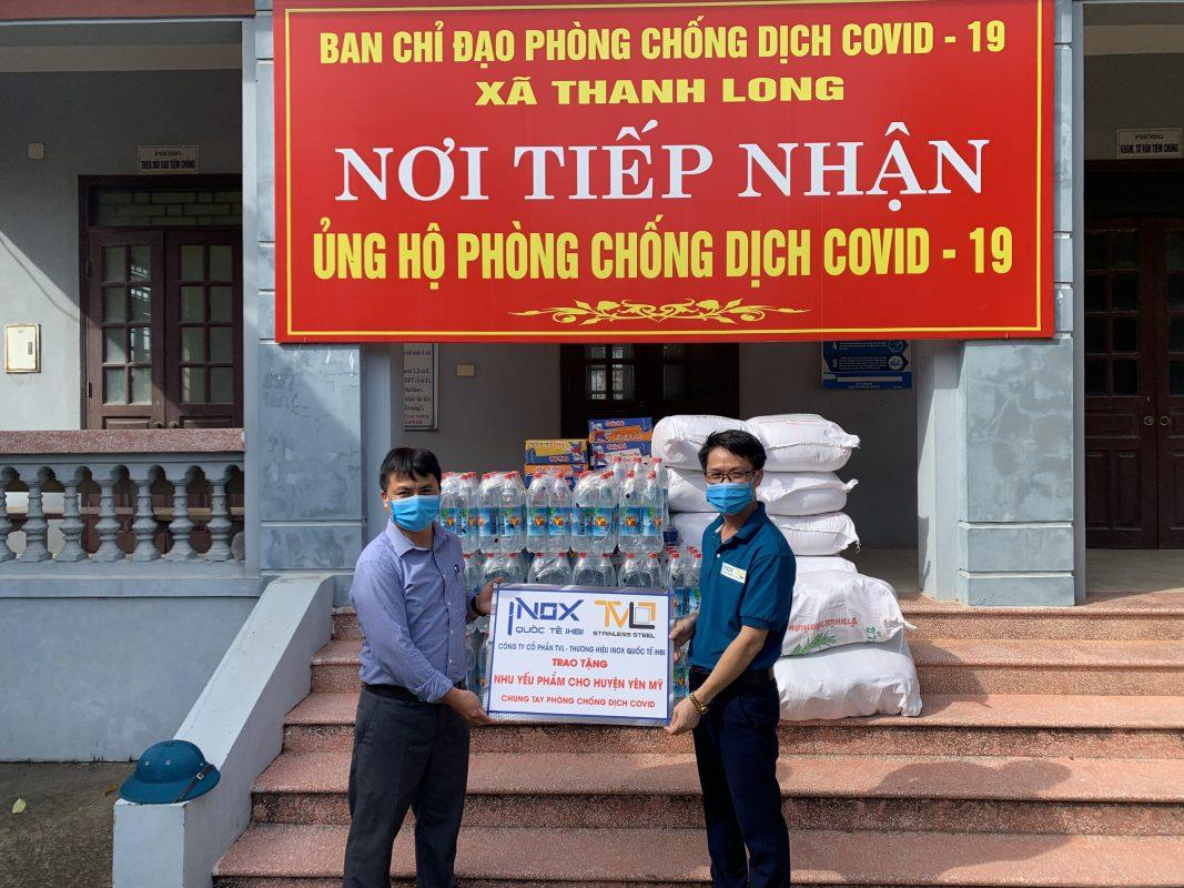 Inox Quốc Tế iHBI đồng hành cùng Bắc Ninh, Hưng Yên chống dịch COVID-19